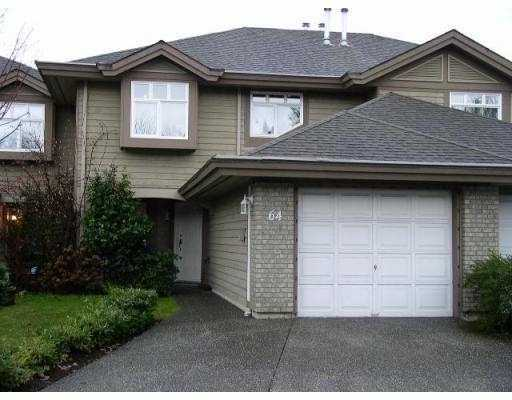 "Main Photo: 64 11737 236TH ST in Maple Ridge: Cottonwood MR Townhouse for sale in ""MAPLEWOOD CREEK"" : MLS® # V570112"