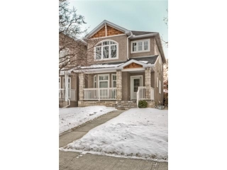 Main Photo: 441 28 Avenue NW in CALGARY: Mount Pleasant Attached Home for sale (Calgary)  : MLS(r) # C3565498