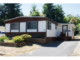 Main Photo: 62 2817 Sooke Lake Road in VICTORIA: La Langford Proper Manu Double-Wide for sale (Langford)  : MLS®# 326567
