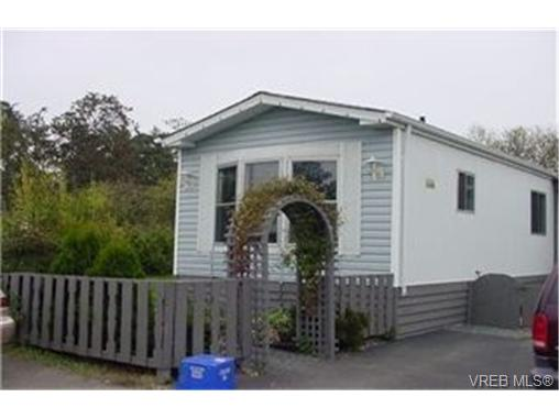 Main Photo: 8 1521 Cooper Road in VICTORIA: VR Glentana Manu Single-Wide for sale (View Royal)  : MLS® # 184745