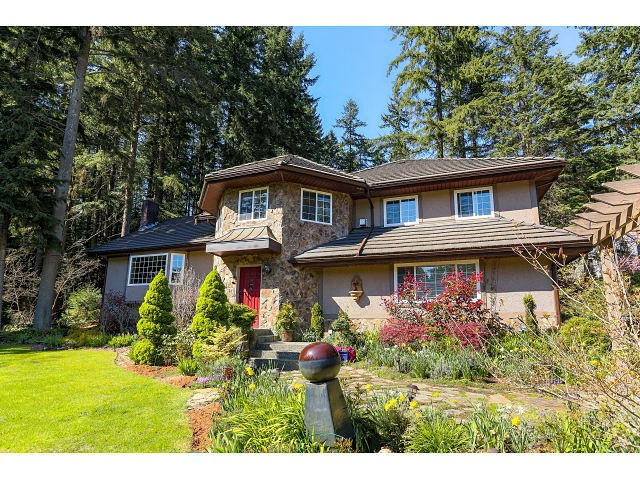 Main Photo: 221 WESTRIDGE LN: Anmore House for sale (Port Moody)  : MLS®# V1117237