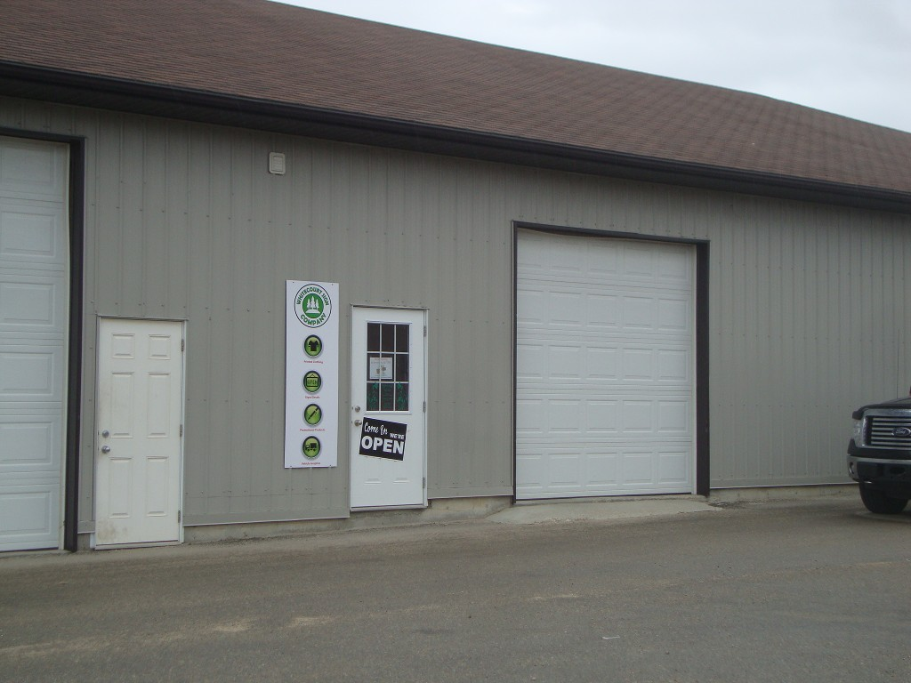 Main Photo: 5 4105 41 Avenue in Whitecourt: Industrial for lease : MLS® # 36918