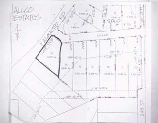 Main Photo: LOT 16 ALOUETTE RD in Maple Ridge: Websters Corners Home for sale : MLS(r) # V208907