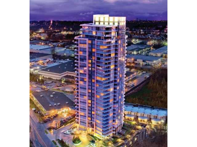 "Main Photo: # 1506 2133 DOUGLAS RD in Burnaby: Brentwood Park Condo for sale in ""PERSPECTIVES"" (Burnaby North)  : MLS® # V924047"
