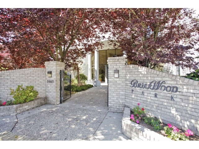 "Main Photo: # 107 5465 201 ST in Langley: Langley City Condo for sale in ""BriarWood Park"" : MLS®# F1317281"