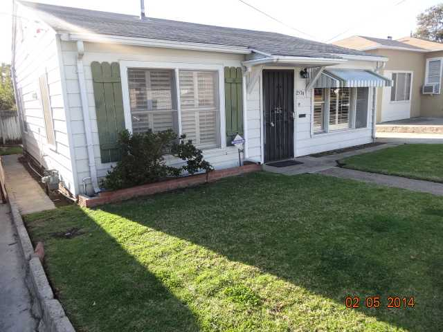 Main Photo: House for sale : 2 bedrooms : 2536 Violet St in San Diego