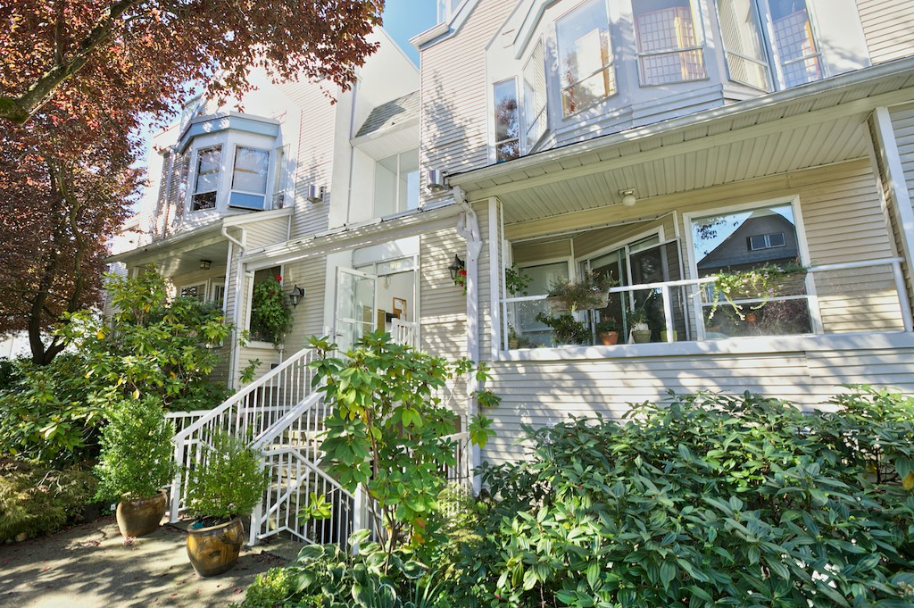 Main Photo: 5 1311 Cotton Drive in Vancouver: Grandview VE Townhouse for sale (Vancouver East)