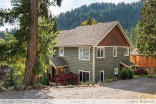 Main Photo: 968 Seaview Place in Bowen Island: Cates Hill House for sale : MLS®# R2315455