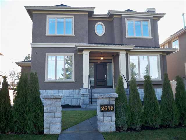 Main Photo: 2646 W KING EDWARD Avenue in Vancouver: Quilchena House for sale (Vancouver West)  : MLS(r) # V946400