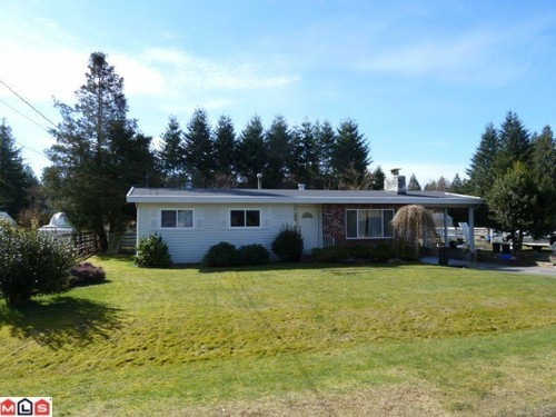 Main Photo: 24634 56A Ave in Langley: Salmon River Home for sale ()  : MLS(r) # F1107429