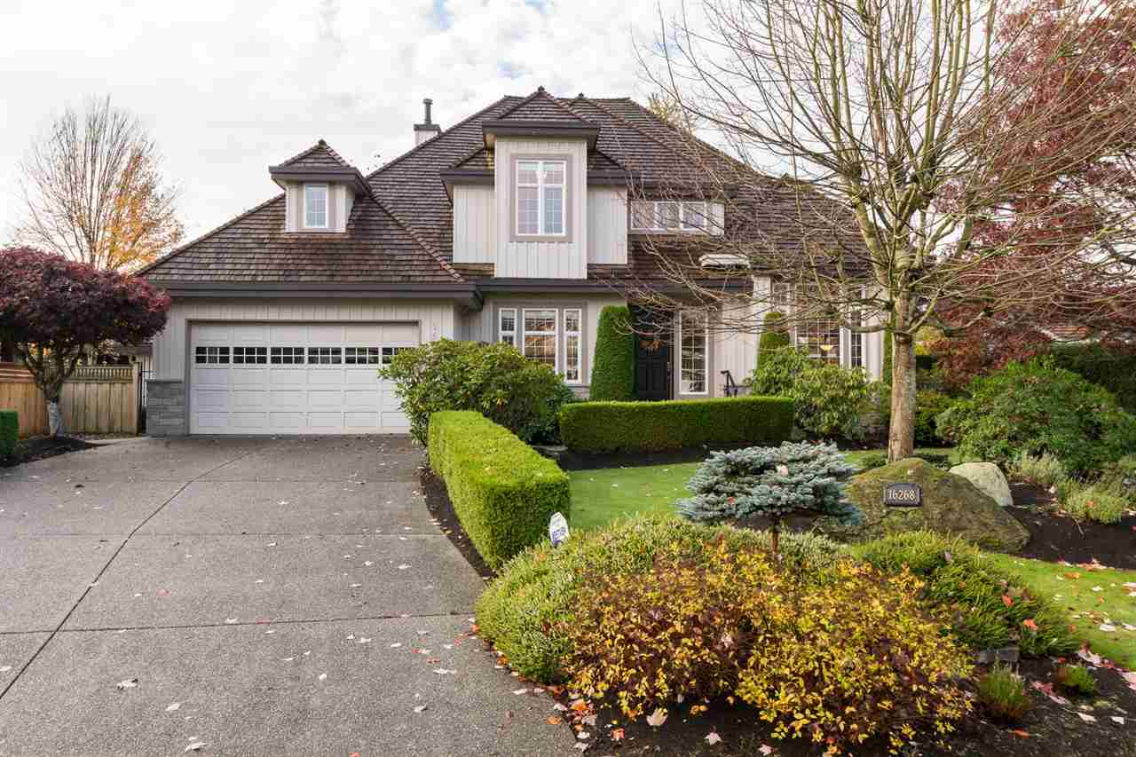 Main Photo: 16268 LINCOLN WOODS COURT in Surrey: Morgan Creek House for sale (South Surrey White Rock)  : MLS®# R2134269