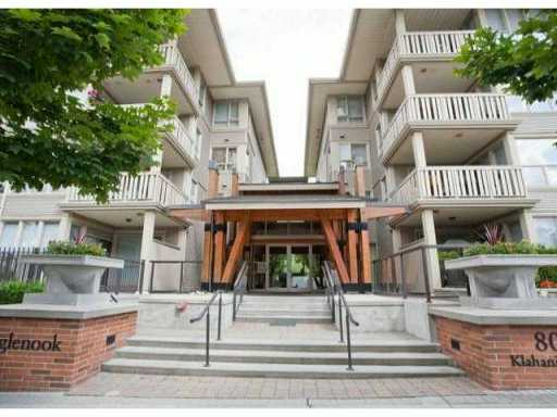 "Main Photo: 110 801 KLAHANIE Drive in Port Moody: Port Moody Centre Condo for sale in ""INGLENOOK"" : MLS(r) # V943064"