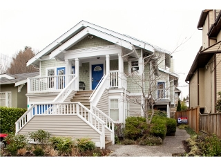 Main Photo: 2585 W 6TH Avenue in Vancouver: Kitsilano Townhouse for sale in &quot;KITSILANO&quot; (Vancouver West)  : MLS(r) # V1006927