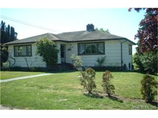 Main Photo: 4050 Carey Road in VICTORIA: SW Marigold Single Family Detached for sale (Saanich West)  : MLS® # 188059