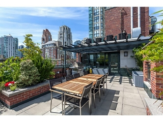 Main Photo: Modern high-end Yaletown Penthouse loft for sale