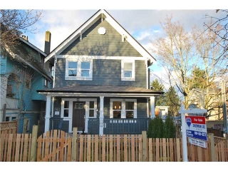 Main Photo: 753 E 11TH AV in Vancouver: Mount Pleasant VE House 1/2 Duplex for sale (Vancouver East)  : MLS®# V1027525