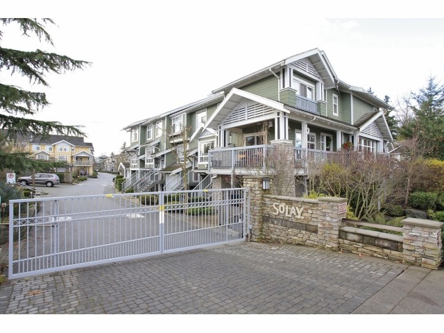 "Main Photo: 41 15168 36TH Avenue in Surrey: Morgan Creek Townhouse for sale in ""SOLAY"" (South Surrey White Rock)  : MLS®# F1228462"