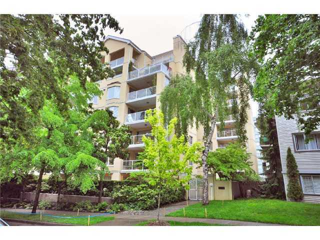 Main Photo: # 507 1263 BARCLAY ST in Vancouver: West End VW Condo for sale (Vancouver West)  : MLS® # V1033917