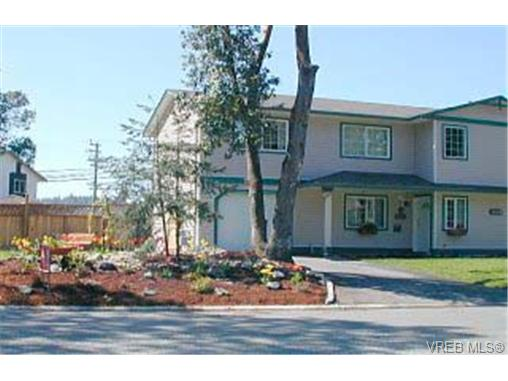 Main Photo: A 583 Tena Place in VICTORIA: Co Wishart North Strata Duplex Unit for sale (Colwood)  : MLS® # 165688