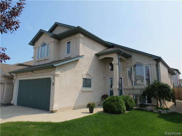 Main Photo: 10 Harding Crescent in WINNIPEG: St Vital Residential for sale (South East Winnipeg)  : MLS® # 1417408