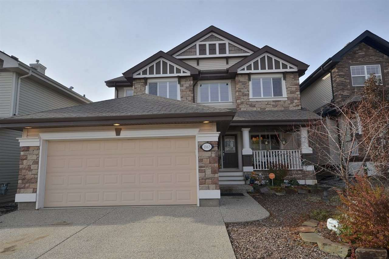 Photo 1: 1163 GOODWIN CI NW in Edmonton: Zone 58 House for sale : MLS® # E4042283