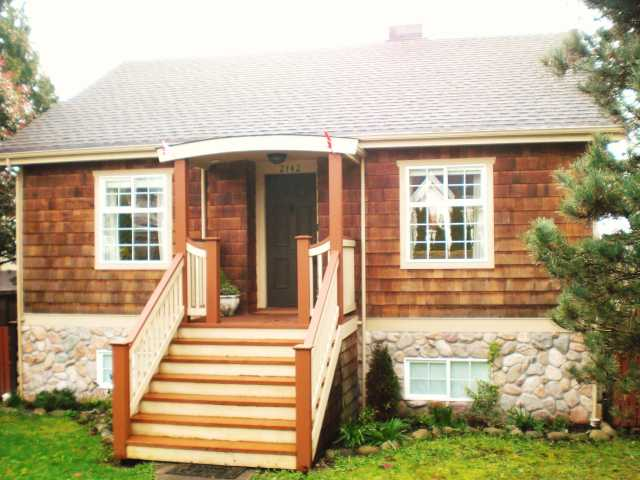 Photo 2: 2142 8TH AV in : Connaught Heights House for sale : MLS® # V815870