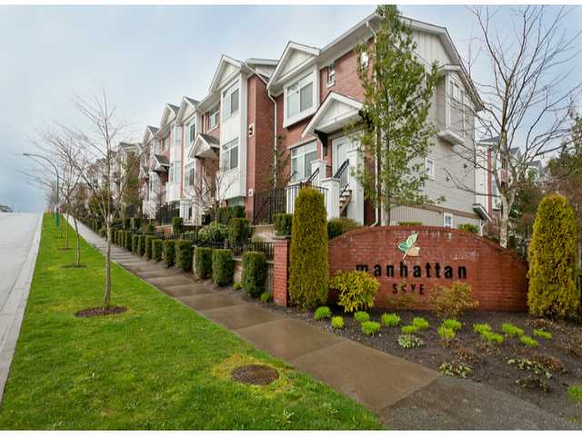 "Main Photo: 6 19551 66TH Avenue in Surrey: Clayton Townhouse for sale in ""Manhattan Skye"" (Cloverdale)  : MLS® # F1307026"