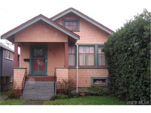 Main Photo: 2754 Fifth Street in VICTORIA: Vi Hillside Single Family Detached for sale (Victoria)  : MLS® # 196636