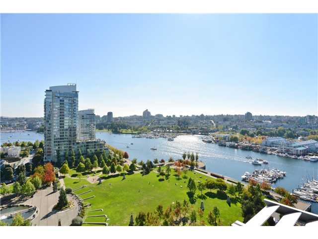 Main Photo: 1806 638 Beach Crescent in Vancouver: Yaletown Condo for sale (Vancouver West)  : MLS® # V1079346