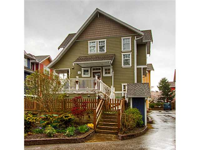"Main Photo: 4 6400 PRINCESS Lane in Richmond: Steveston South Townhouse for sale in ""MCKINNEY WALK"" : MLS® # V943157"