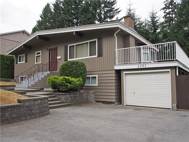 Main Photo: 2351 COMO LAKE Avenue in Coquitlam: Chineside House for sale : MLS® # V1022988