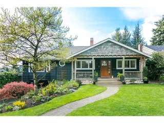 Main Photo: 4631 CEDARCREST AV in North Vancouver: Canyon Heights NV House for sale : MLS® # V1115330