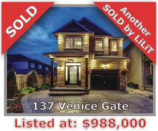 Main Photo: 137 Venice Gate Dr in Vaughan: Vellore Village Freehold for sale