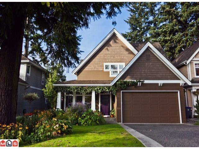 "Main Photo: 15545 36TH Avenue in Surrey: Morgan Creek House for sale in ""Rosemary Heights"" (South Surrey White Rock)  : MLS® # F1225260"