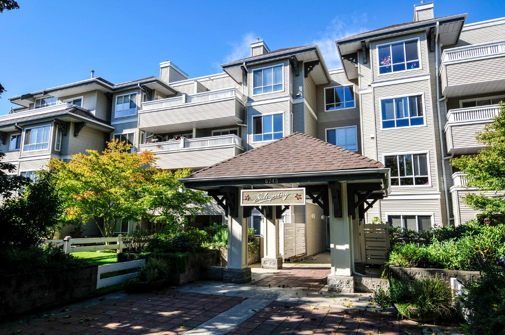Main Photo: # 407 6745 STATION HILL CT in Burnaby: South Slope Condo for sale (Burnaby South)  : MLS® # V1087285