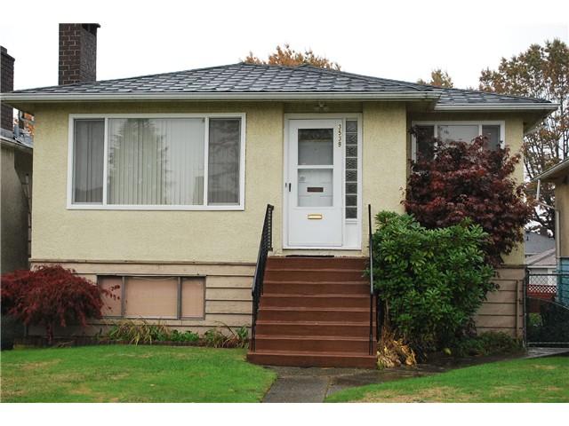 Main Photo: 3539 E 23rd Avenue in Vancouver: Renfrew Heights House for sale (Vancouver East)  : MLS®# V1092549