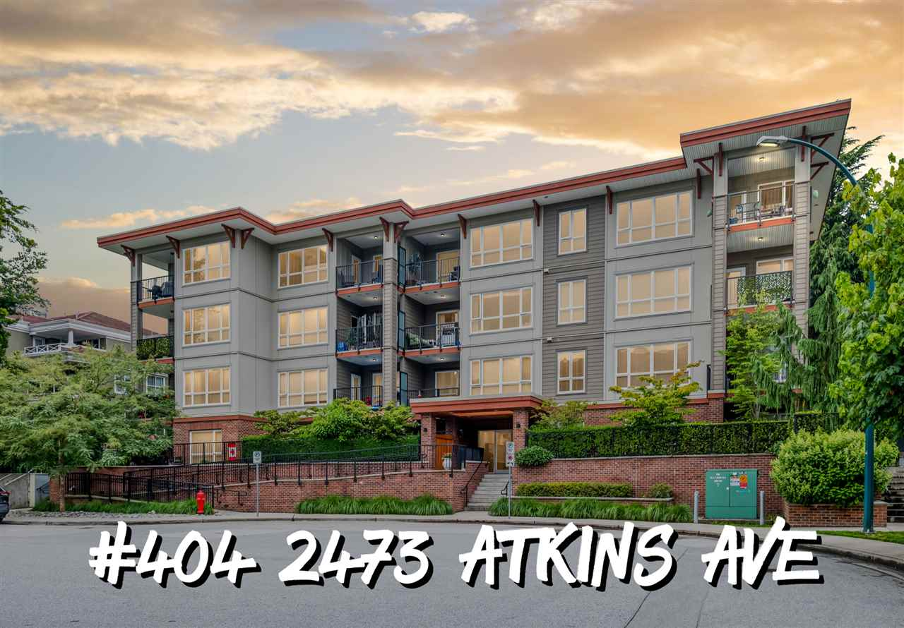 FEATURED LISTING: 404 - 2473 ATKINS Avenue Port Coquitlam