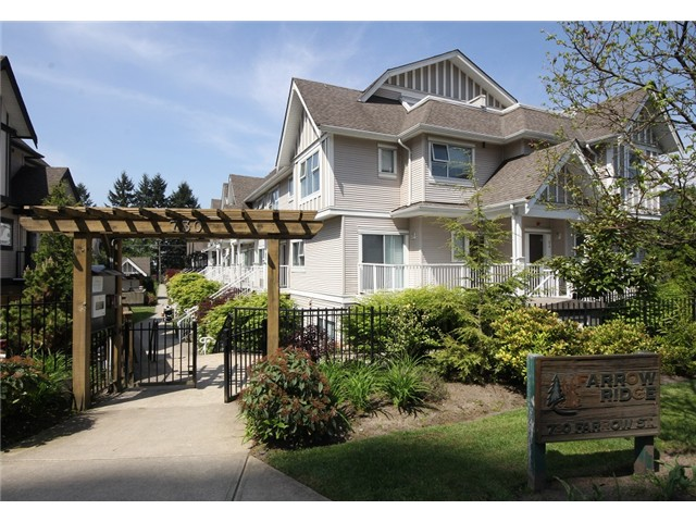 "Main Photo: 54 730 FARROW Street in Coquitlam: Coquitlam West Townhouse for sale in ""FARROW RIDGE"" : MLS® # V1006039"