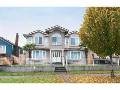 Main Photo: 1411 DUBLIN Street in New Westminster: West End NW House for sale : MLS® # V1078440