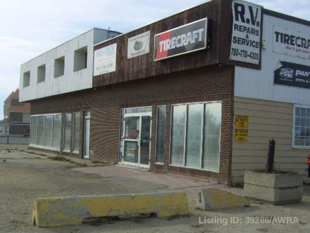 Main Photo: 5404 49 Avenue in Whitecourt: Business with Property for sale : MLS® # 39286