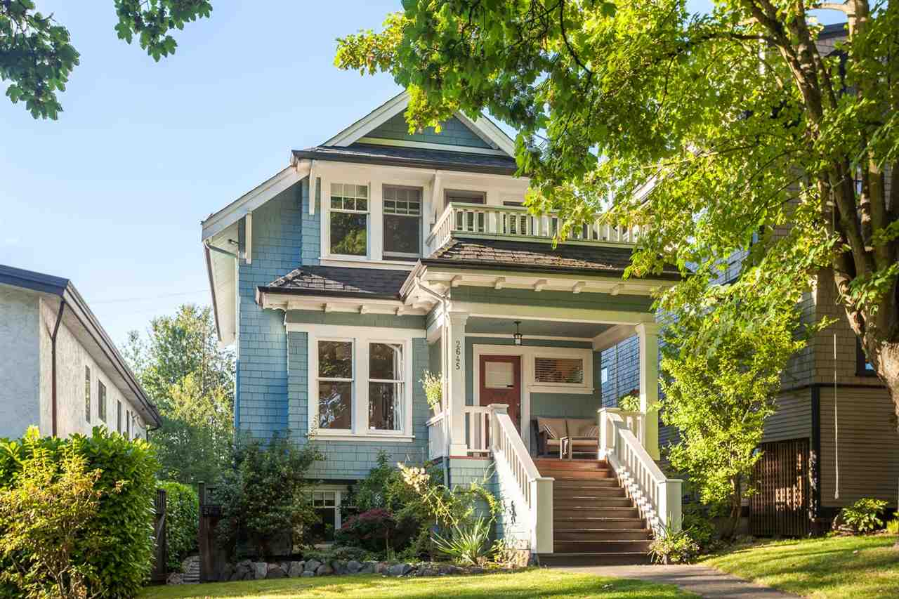Main Photo: 2645 W 11TH AVENUE in Vancouver: Kitsilano House for sale (Vancouver West)  : MLS® # R2089393