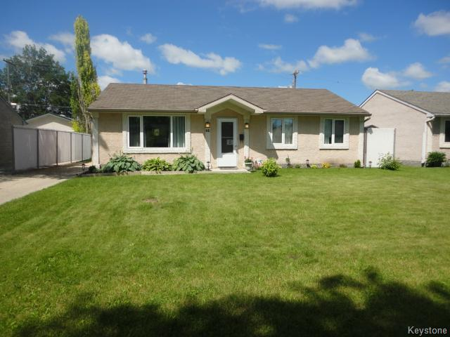 Main Photo: 46 Paisley Place in WINNIPEG: St James Residential for sale (West Winnipeg)  : MLS® # 1416428