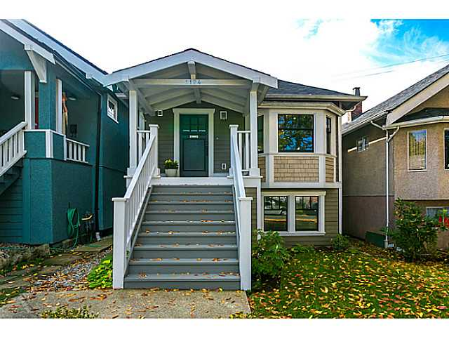Main Photo: 1124 E 19TH AV in Vancouver: Knight House for sale (Vancouver East)  : MLS® # V1089954