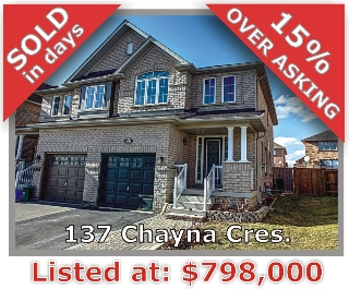 Main Photo: 137 Chayna Crescent in Vaughan: Patterson Freehold for sale