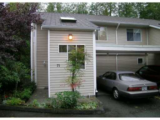"Main Photo: 71 1235 LASALLE Place in Coquitlam: Canyon Springs Townhouse for sale in ""CREEKSIDE PLACE"" : MLS® # V929972"