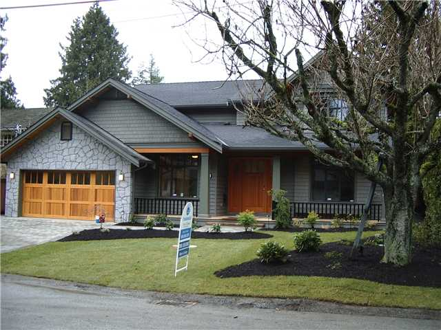 "Main Photo: 1246 RYDAL Avenue in North Vancouver: Canyon Heights NV House for sale in ""CANYON HEIGHTS"" : MLS®# V931074"