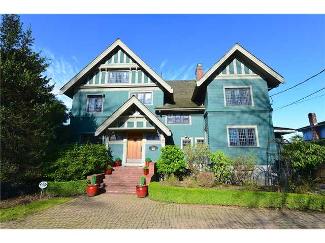 "Main Photo: 1527 ANGUS Drive in Vancouver: Shaughnessy House for sale in ""FIRST SHAUGHNESSY"" (Vancouver West)  : MLS(r) # V990946"