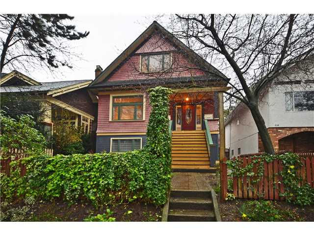 "Main Photo: 242 E 23RD Avenue in Vancouver: Main House for sale in ""MAIN"" (Vancouver East)  : MLS(r) # V996039"