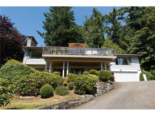 Main Photo: 4425 Keith Road in West Vancouver: Caulfeild House for sale : MLS® # v1079674