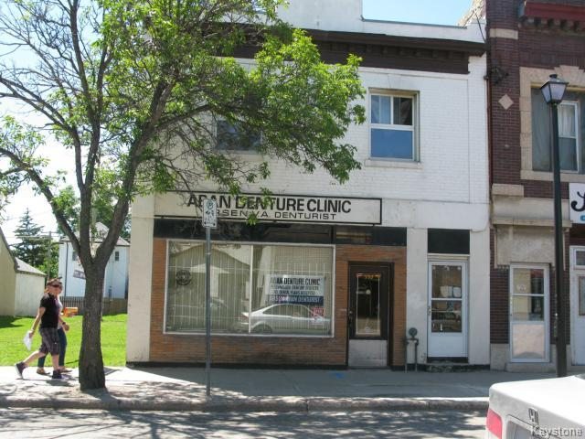 Main Photo: 592 Selkirk Avenue in Winnipeg: North End Industrial / Commercial / Investment for sale (North West Winnipeg)  : MLS®# 1416768